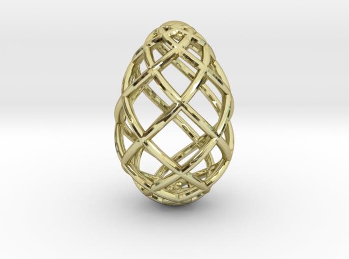 OVO Pendant Medium No Loop 3d printed