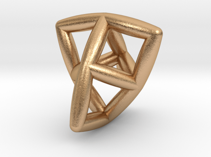 Seed Of Twist Pendant 3d printed
