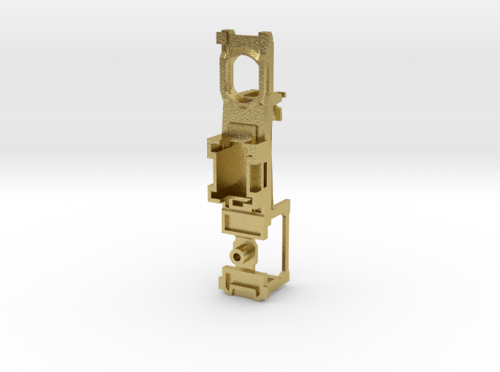 Z Scale Generic Motorized Frame 3d printed