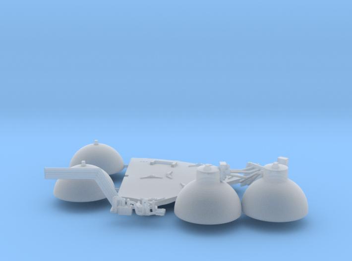 SM oxygen tanks 3d printed