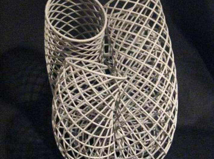 Containing Air 101f12 3d printed Metallic Plastic