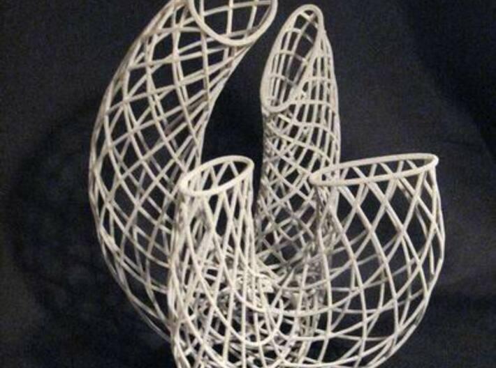 Containing Air 102d23  3d printed Metallic Plastic