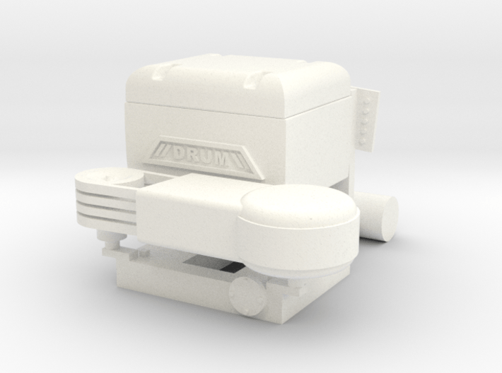 """1990's Drum """"Look-a-Like"""" Compressor 3d printed"""
