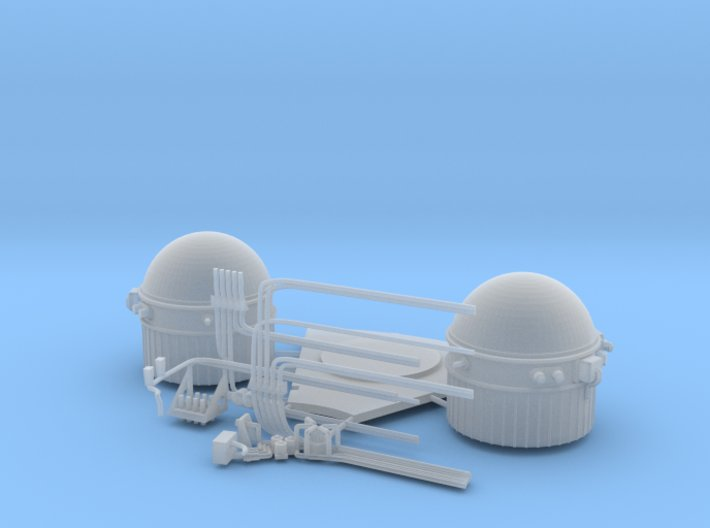 SM hydrogen tanks 3d printed