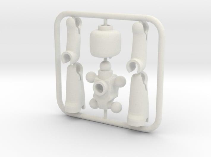 EGO miniature figure 3d printed