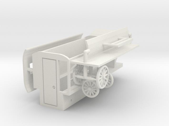 "Kassenwagen ""Kutsche"" 1:87 (H0 scale) 3d printed"