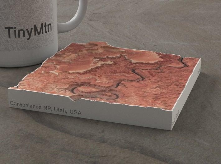 Canyonlands NP, Utah, USA, 1:100000 Explorer 3d printed