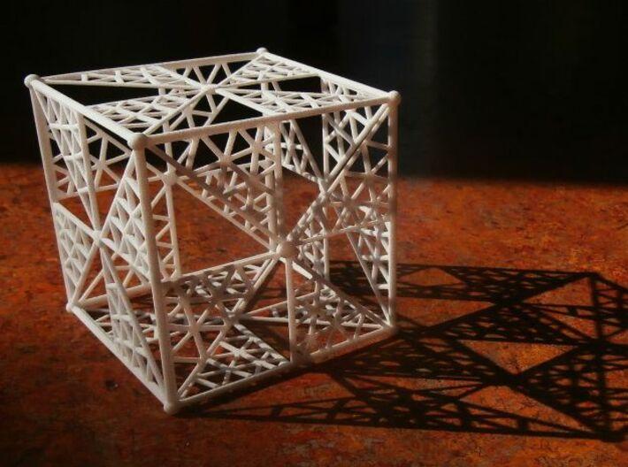 6 cm Cube 3d printed