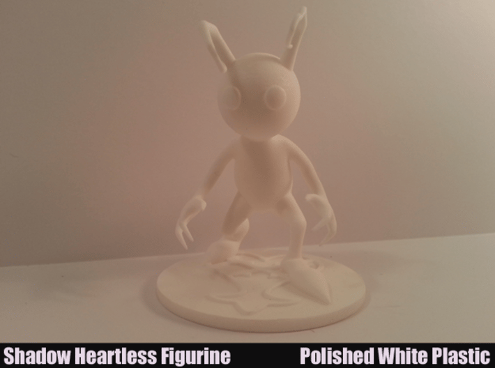 Shadow Heartless Figurine 3d printed Front View