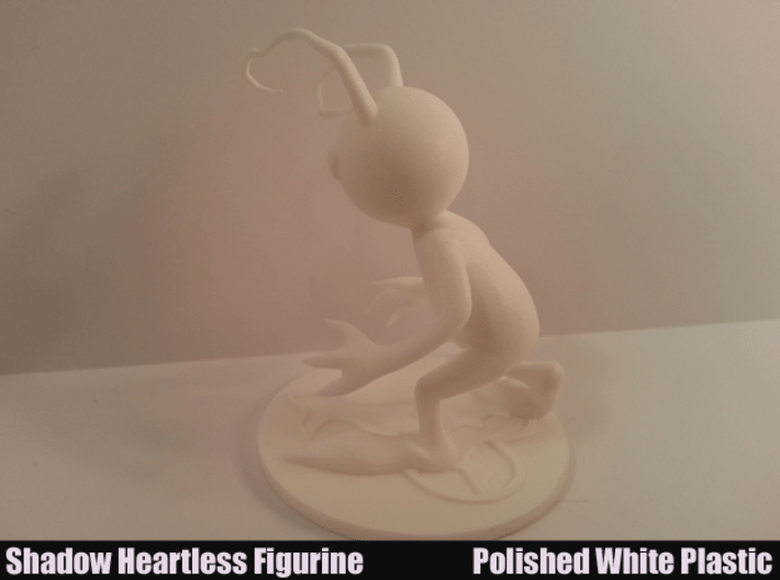Shadow Heartless Figurine 3d printed Side View