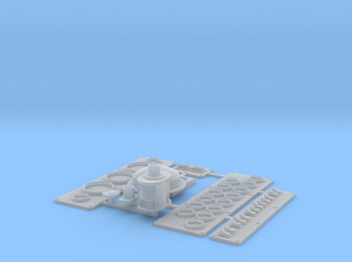 Wellcraft SC38 Fitting Set II 3d printed