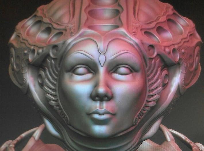 The Dune Queen 3d printed