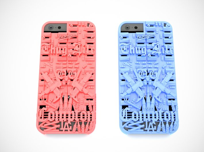 Compton iPhone 5 Cover 3d printed