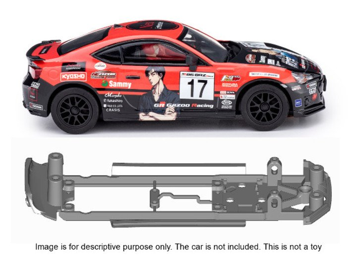 S24-ST2 Chassis for Policar Subaru BRZ / Toyota GT 3d printed