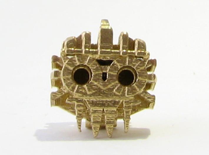 Aztec Bead Tlaloc FA 3d printed Tlaloc face on