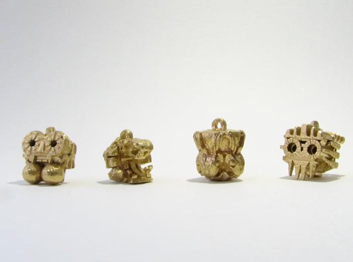 Aztec Bead Chantico FA 3d printed All four idols