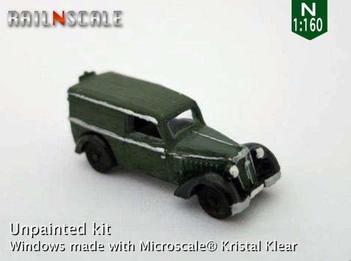 DKW F7 Front Lieferwagen (N 1:160) 3d printed
