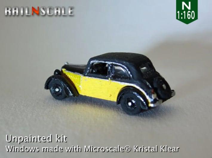 DKW F7 Meisterklasse (N 1:160) 3d printed