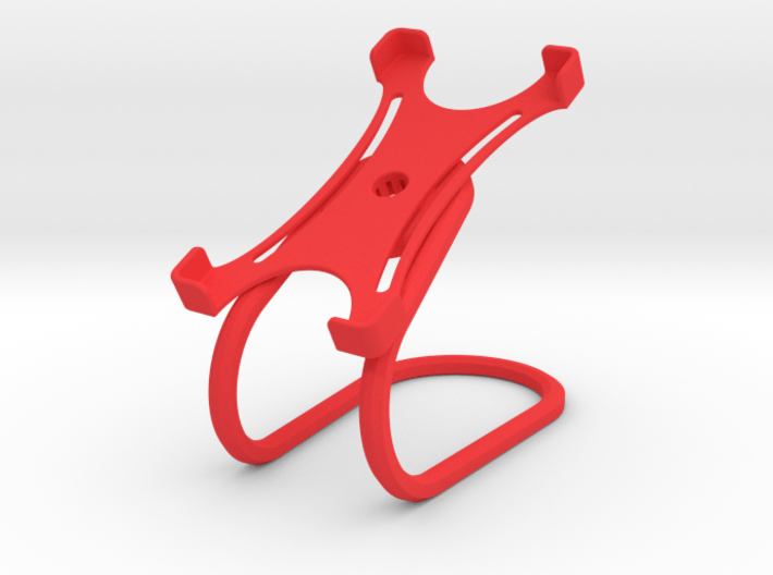 Rotary support for smartphones (example) 3d printed
