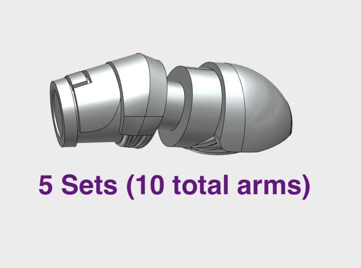 Prime Marine - Adjustable Arms (PM) 3d printed