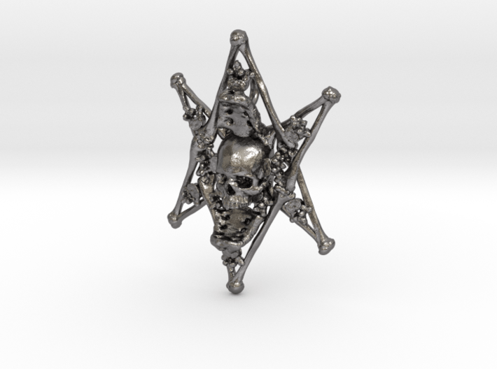 Thelema Bone Pendant 3d printed