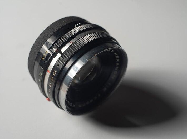 HEXANON 1:2 f=48mm KONISHIROKU lens adapter 3d printed