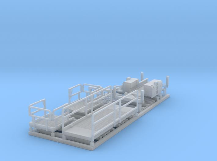 HO/1:87 Aerial working platform kit 3d printed