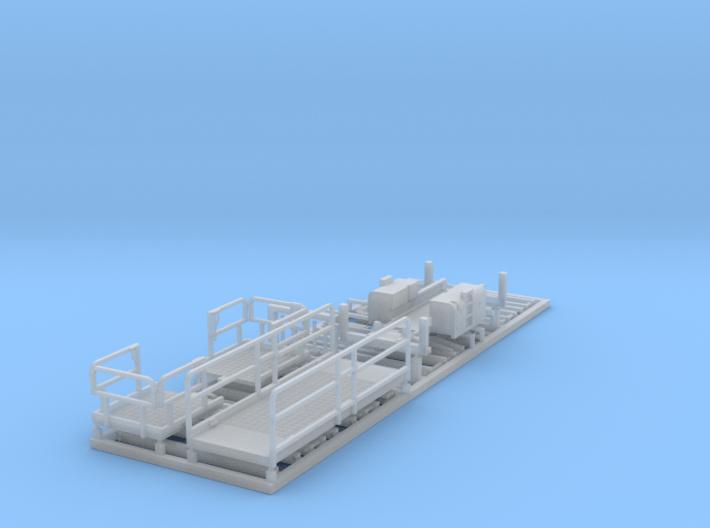 HO/1:87 Aerial working platform tall kit 3d printed