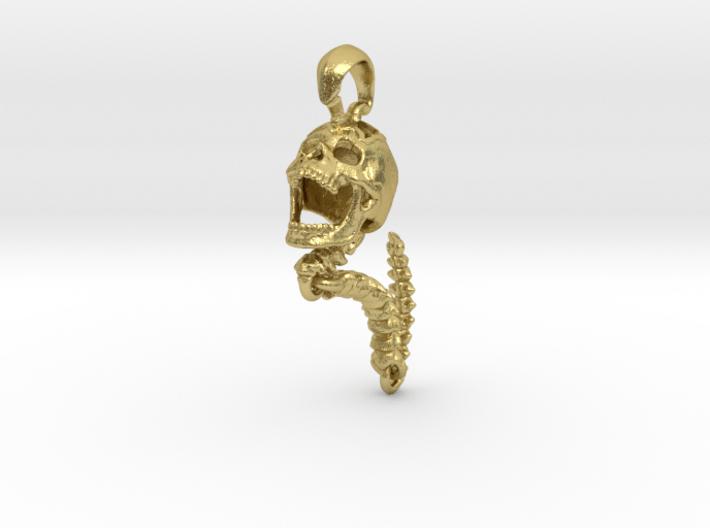 Skull Pendant   Clone 3d printed