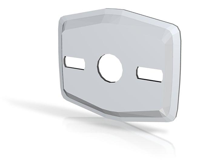 Bathroom Hook Bracket 3d printed