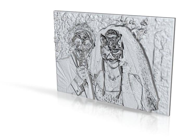 Glass Photoshaper 3d printed