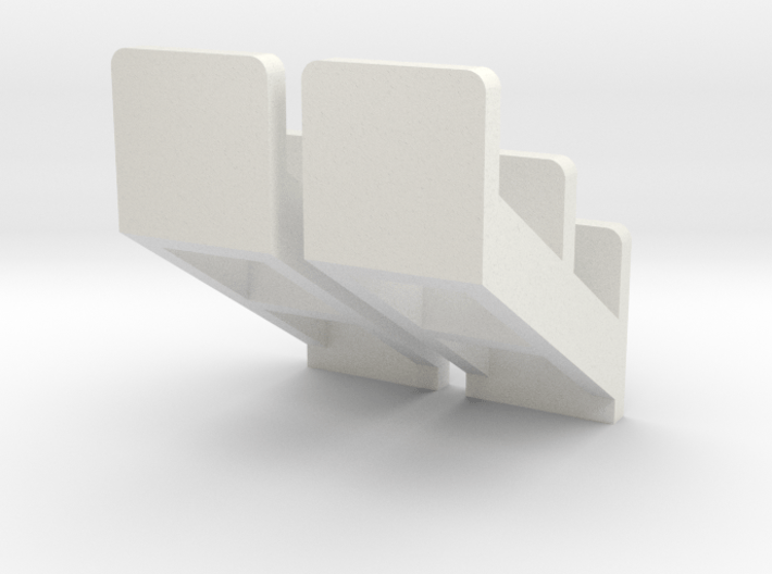 1 pair 1:64 scale Tractor Steps 3d printed