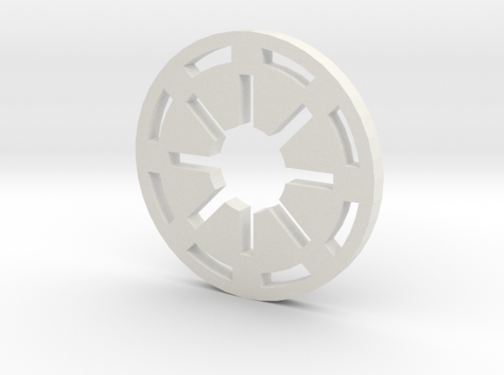 Galactic Republic Symbol 3d printed