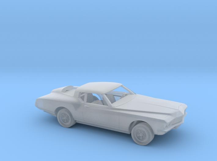 1/87 1971-73 Buick Riviera Kit 3d printed
