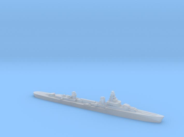French cruiser Émile Bertin c1942 WW2 1:2400 3d printed