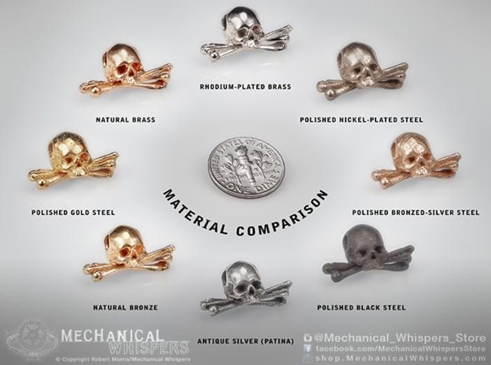 Skull Vertebrae Bone Pendant 3d printed