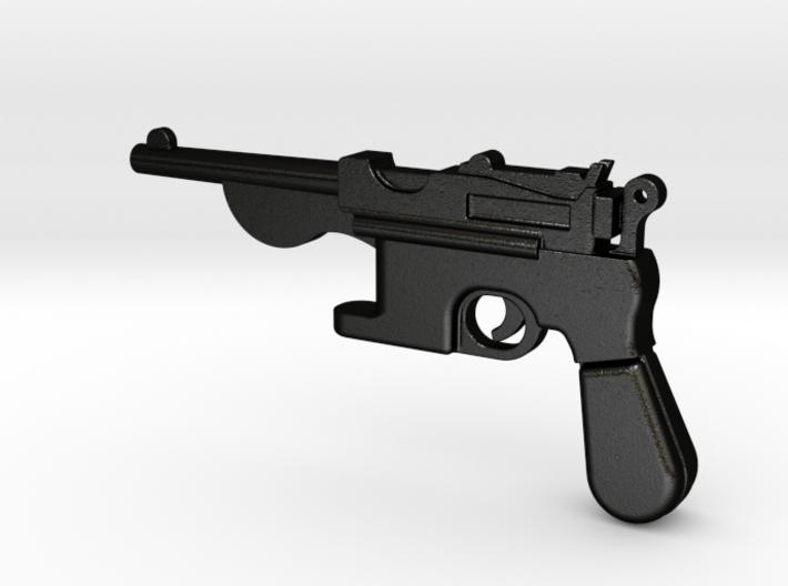 Gun bottle opener 1 3d printed