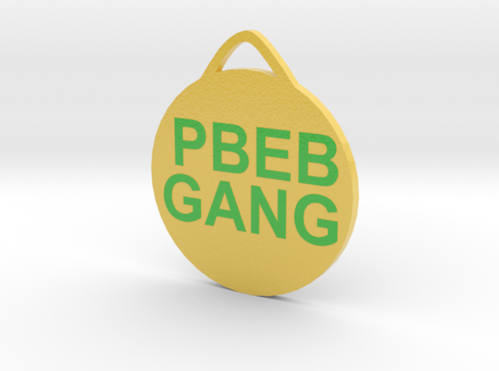 PBEBGANG hanger 3d printed