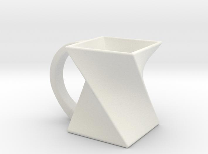 Twist Mug 3d printed