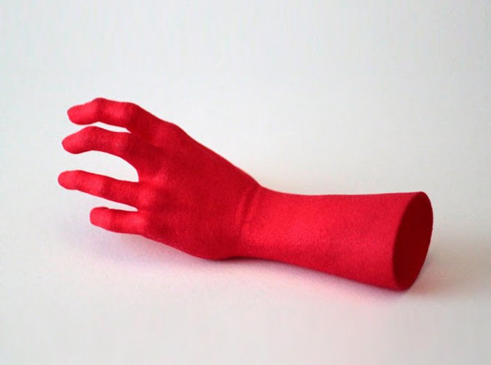 Zombie Hand - Reaching 3d printed