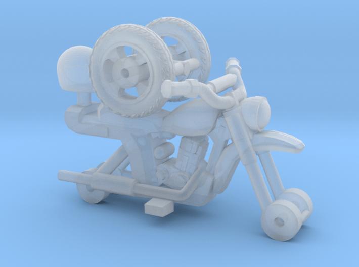 1-87 Scale Junkyard 50cc Minibike 3d printed