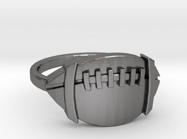 Jackie's Football Ring 3d printed
