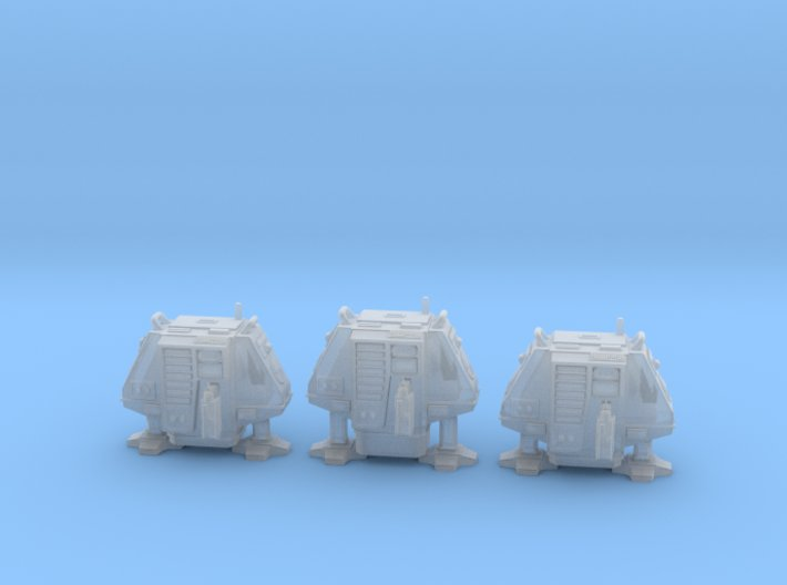 1-87 Scale Silent Drone Pack 3d printed
