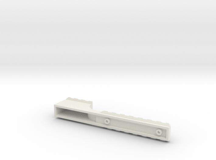 Stepped Rail 3d printed