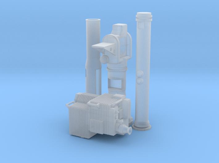 Soporte-TOW-BMR-1-35 3d printed