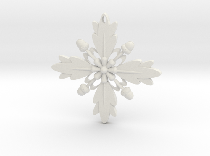 Grand Central Snowflake - 3D 3d printed