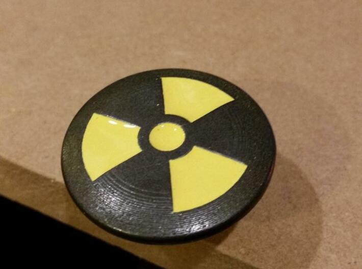 Shooter Knob - Nuclear (TNA) 3d printed