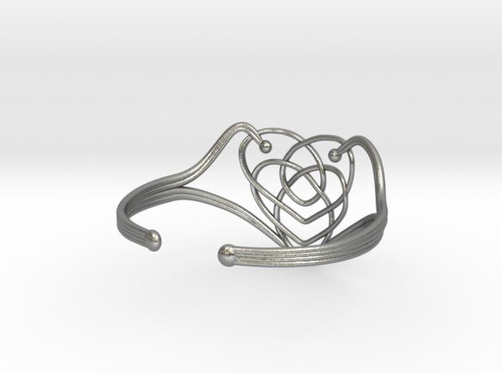 Celtic Motherhood Knot Braclet 3d printed
