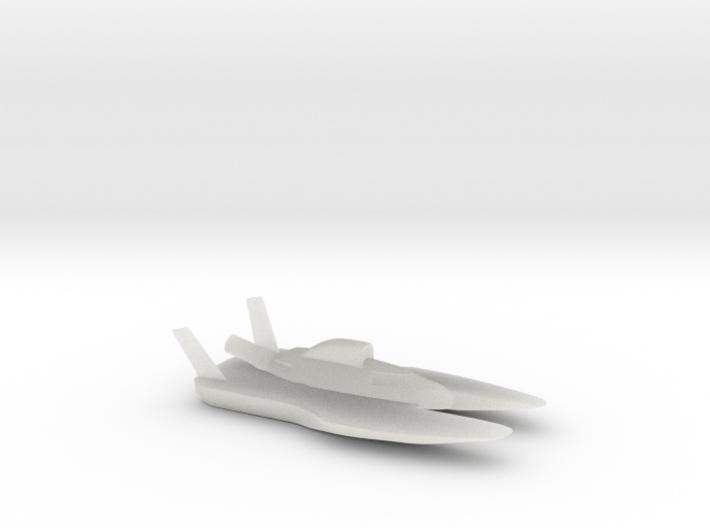 Hydroplane 3d printed
