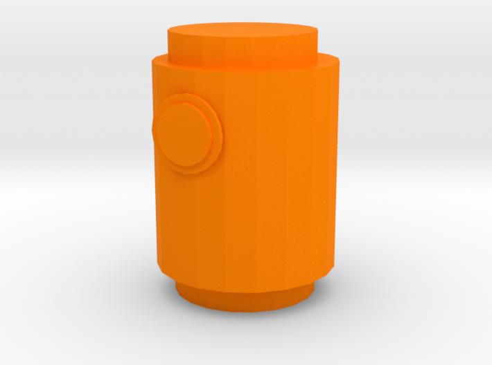 Lantern demon 3d printed